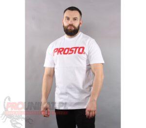 T-SHIRT PROSTO CLASSIC V WHITE