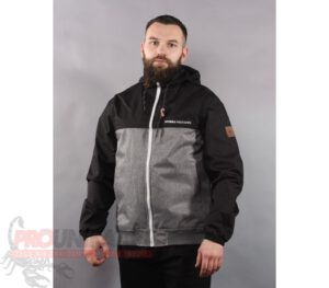 KURTKA PITBULL JACKET TOWER MELANGE BLACK