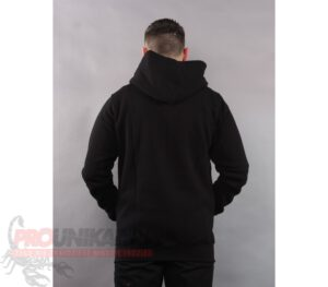 BLUZA STOPROCENT KAPTUR ZIP SMALL TAG BLACK