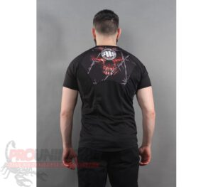 RASHGUARD PITBULL MESH WIRED SKULL