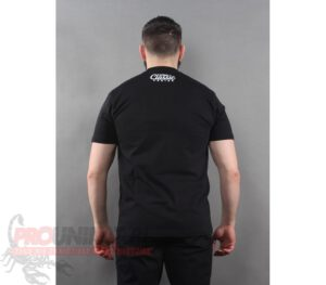 T-SHIRT PITBULL CURB BLACK