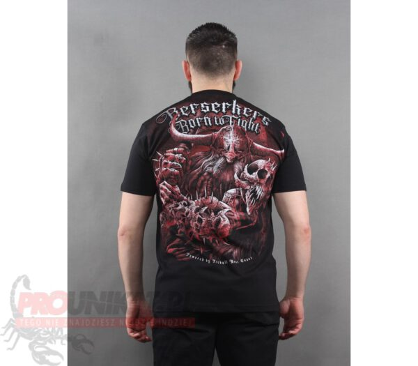 T-SHIRT PITBULL BERSERKERS 19 BLACK