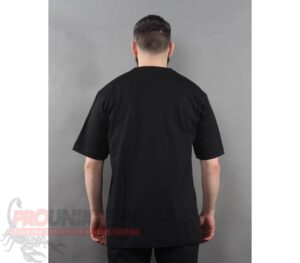 T-SHIRT STOPROCENT BASE TAG BLACK
