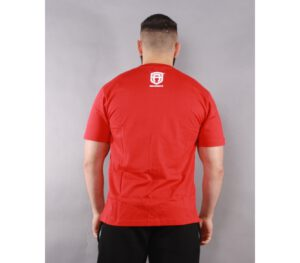 T-SHIRT STREET AUTONOMY WORLDWIDE RED