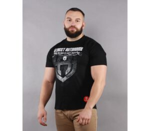 T-SHIRT STREET AUTONOMY ATHLETE BLACK