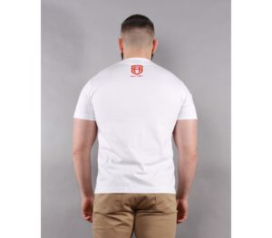 T-SHIRT STREET AUTONOMY ARROW WHITE/RED