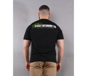 T-SHIRT STREET AUTONOMY TOP BLACK