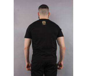 T-SHIRT STREET AUTONOMY TM BORDER BLACK