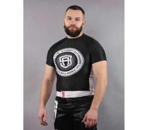 RASHGUARD STREET AUTONOMY SHORT WHEEL BLACK