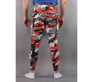 LEGGINSY STREET AUTONOMY LONG SARMY CAMO RED