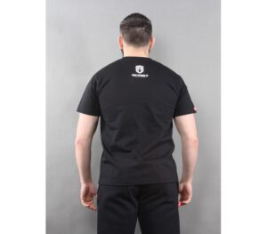 T-SHIRT STREET AUTONOMY DOUBLE GUNS BLACK