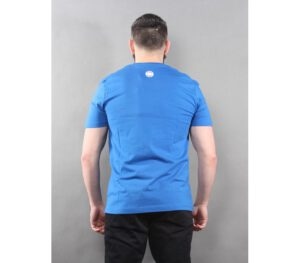 T-SHIRT PITBULL OLD LOGO ROYAL BLUE
