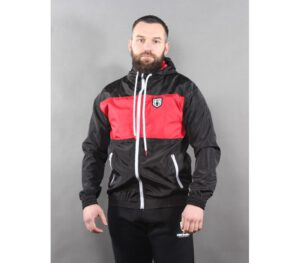 KURTKA STREET AUTONOMY FRICTION BLACK RED