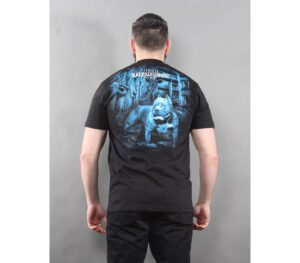 T-SHIRT PITBULL CITY OF DOGS BLACK