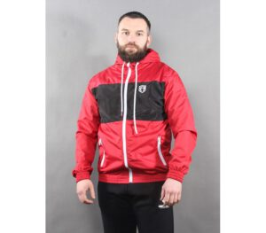 KURTKA STREET AUTONOMY FRICTION RED BLACK