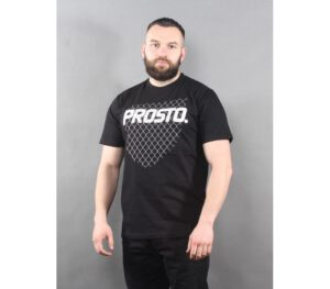 T-SHIRT PROSTO BARRIER BLACK