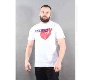 T-SHIRT PROSTO BROKESHIELD WHITE