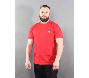 T-SHIRT PROSTO JACQUARD II RED