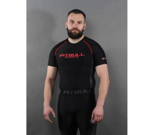 RASGUARD PITBULL COMPRESSION SHORT BLACK