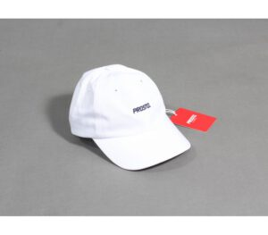 CZAPKA PROSTO 6 PANEL LOGO WHITE