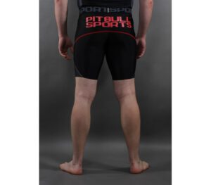 SPODENKI PITBULL COMPRESSION SHORT BLACK