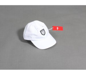 CZAPKA PROSTO 6 PANEL SHIELD WHITE
