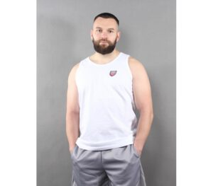 TANK TOP PROSTO SHIELD V WHITE