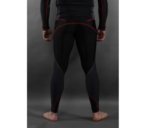 LEGGINSY PITBULL COMPRESSION LONG BLACK