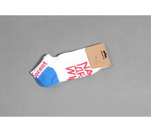 SKARPETKI STOPROCENT NA ZDROWIE WHITE/BLUE