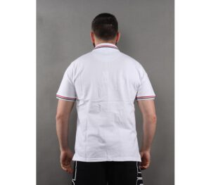 T-SHIRT POLO PROSTO GEEZA WHITE