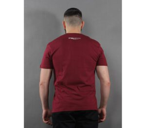 T-SHIRT PITBULL TNT BURGUNDY