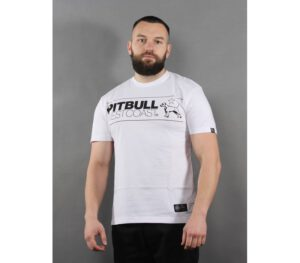 T-SHIRT PITBULL TNT DOG WHITE
