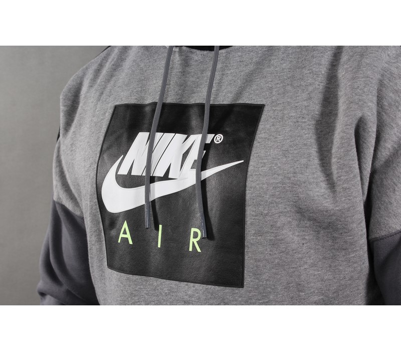BLUZA NIKE KAPTUR AT5257 091 GREY | ProUnikat.pl