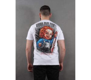 T-SHIRT PITBULL CHUCKY WHITE