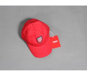 CZAPKA PROSTO 8 PANEL SHIELD RED