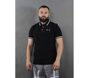 POLO STOPROCENT TAG19 BLACK