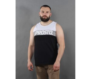 TANK TOP PROSTO FLOORS BLACK…