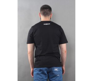 T-SHIRT NEW BAD LINE DRAW BLACK