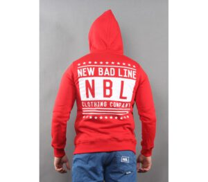 BLUZA NEW BAD LINE KAPTUR SWAG RED