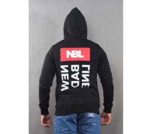 BLUZA NEW BAD LINE KAPTUR TRIPPLELOGO BLACK