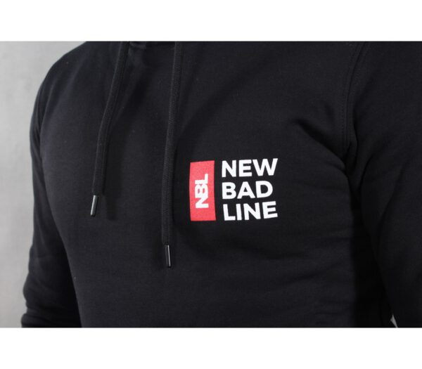 BLUZA NEW BAD LINE KAPTUR TRIPPLELOGO BLACK