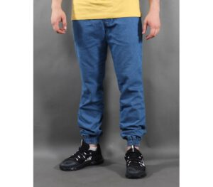 SPODNIE NEW BAD LINE JOGGER JEANS ICON LIGHT BLUE