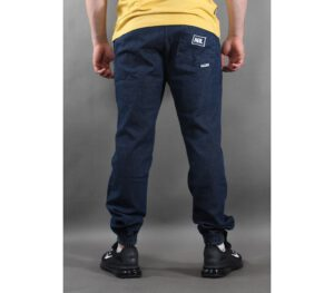 SPODNIE NEW BAD LINE JOGGER JEANS ICON DARK BLUE
