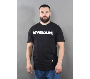 T-SHIRT NEW BAD LINE CLASSIC BLACK WHITE