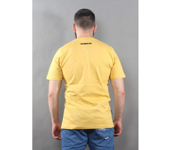 T-SHIRT NEW BAD LINE ICON YELLOW