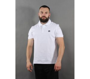 POLO PITBULL CIRCLE LOGO WHI…