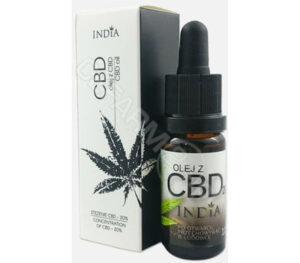 INDIA olej z CBD 20% 10 ml