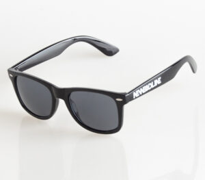 OKULARY CLASSIC BLACK FLASH …