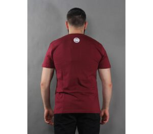 T-SHIRT PITBULL CLASSIC BOXING BURGUNDY