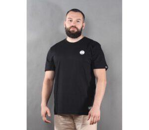 T-SHIRT PITBULL SMALL LOGO BLACK